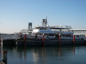 New summer ferry service for Riis Landing provides opportunities for many coastal activities.