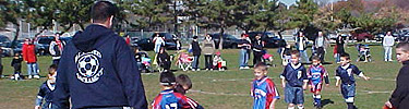 Little League Soccer at Miller Field, Staten Island