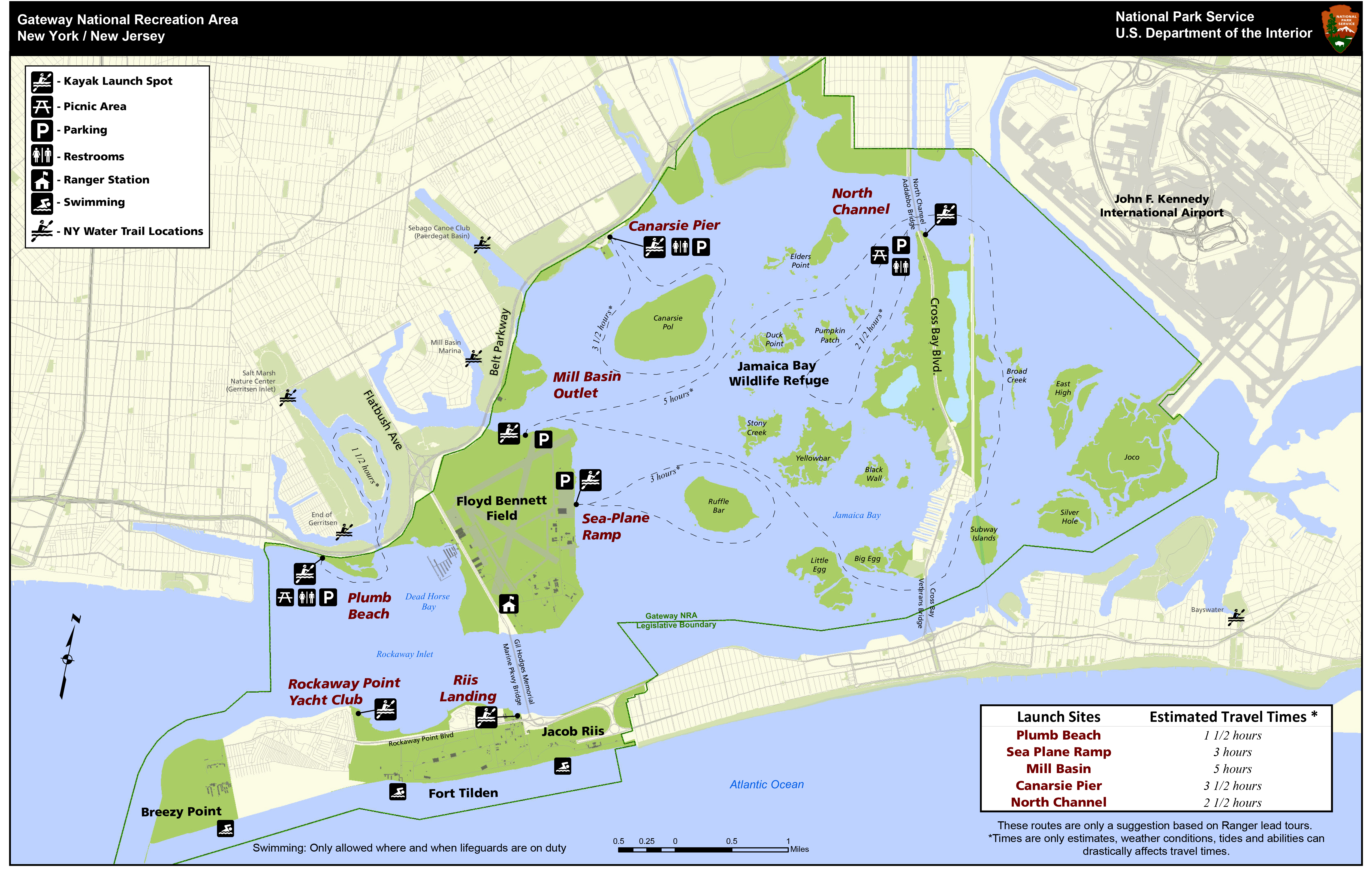 Maps for Jamaica Bay Unit - Gateway National Recreation Area (U.S. ...