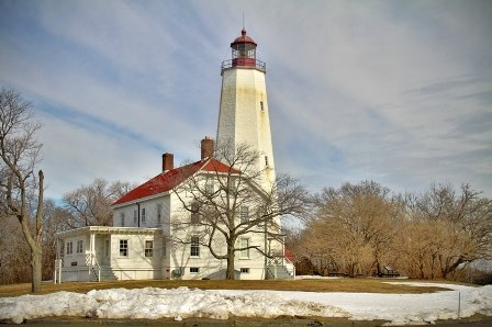 Sandy Hook lighthouse keeper's quarters