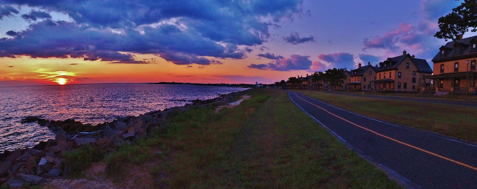 Paternoster, Michael J Officers Row  Water Sunset Winner of Gateway's 2015 Photo Contest
