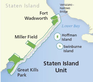 Maps for Staten Island Unit Gateway National Recreation Area US