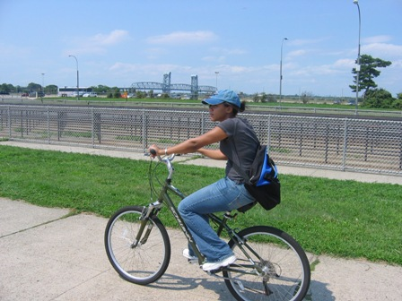 Stay fit in America's Great Outdoors. Go biking at Jacob Riis Park, Queens.