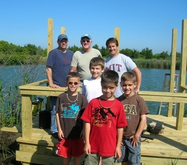 Check out the rebuilt wildlife viewing platform at Sandy Hook.