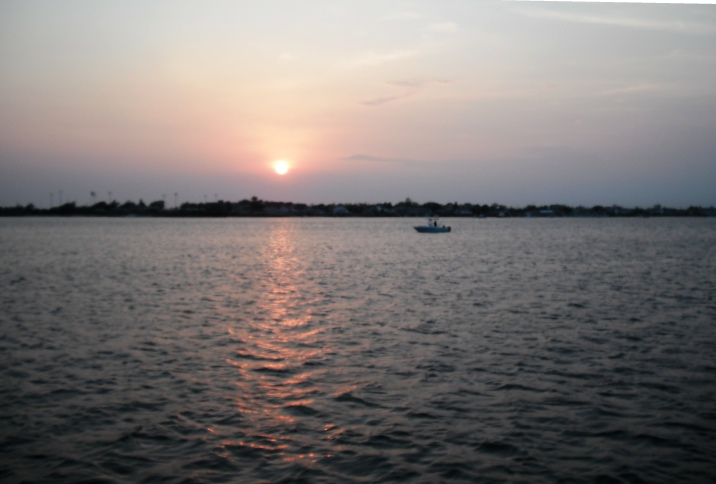 Sunset over Jamaica Bay. You could be here right now.
