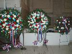 Wreaths for the General