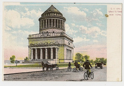 GEGR bicycle postcard