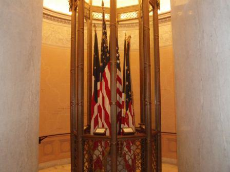 Flag Room at General Grant National Memorial