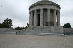 George Rogers Clark Memorial after restoration.