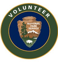 Volunteer logo with NPS arrowhead