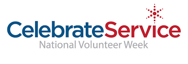 Logo with Celebrate Service National Park Week