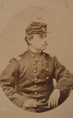 A Photograph of Colonel Robert Gould Shaw, 54th MA, from the Collections of the Massachusetts Historical Society