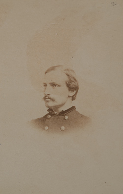 Photographs of Colonel Edward Hallowell from the Collections of the Massachusetts Historical Society