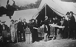 Surgeons at Camp Letterman