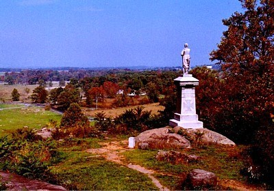 The Valley of Death from Little Round Top