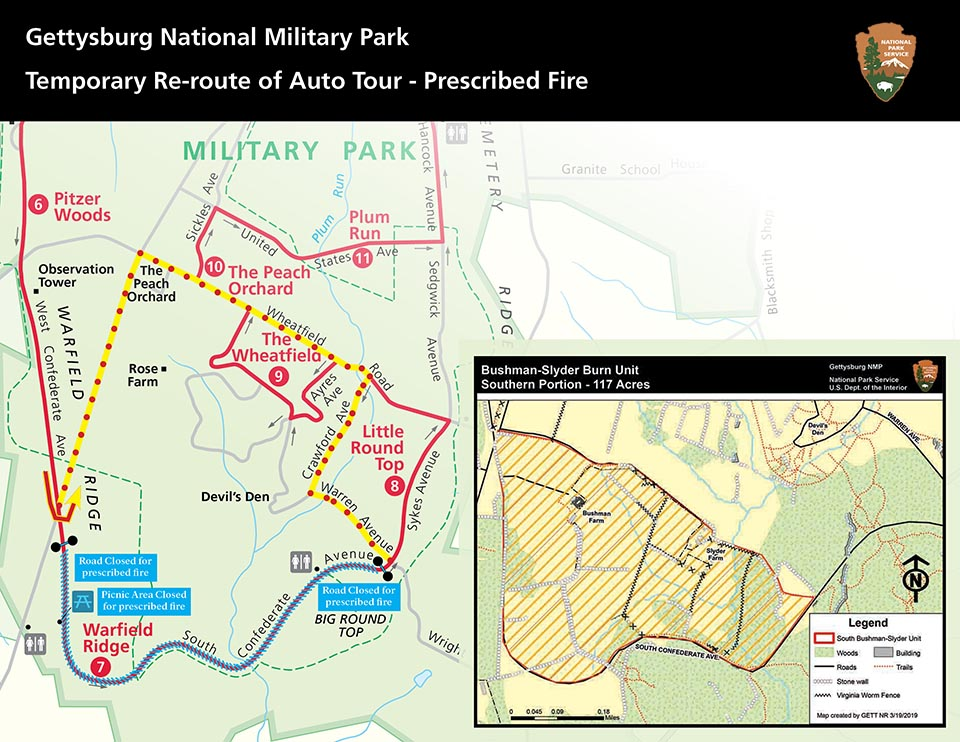 Prescribed fire on the Gettysburg battlefield will take ... on scranton on map, appomattox on map, atlanta on us map, pierre on map, chancellorsville on map, underground railroad on map, fairfield on map, port hudson on map, vicksburg on map, fort sumter on map, penn hills on map, shay's rebellion on map, cumberland county on map, allegheny national forest on map, antietam on map, huron on map, paradise on map, mount carmel on map, kadoka on map, hershey on map,