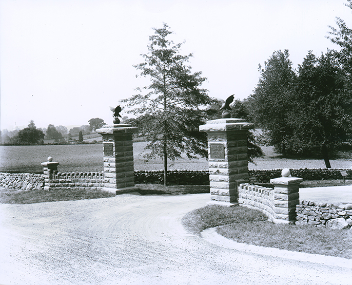 Gateway to Hancock Avenue at Taneytown Road