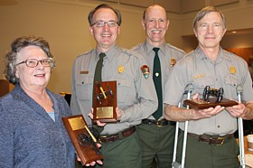 Park employees with awards  February 2012