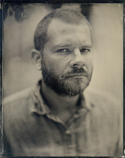tintype photo of Brian Emery
