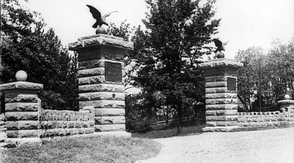 Hancock Avenue Entrance Gate, 1900