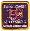 150th Gettysburg Junior Ranger Patch