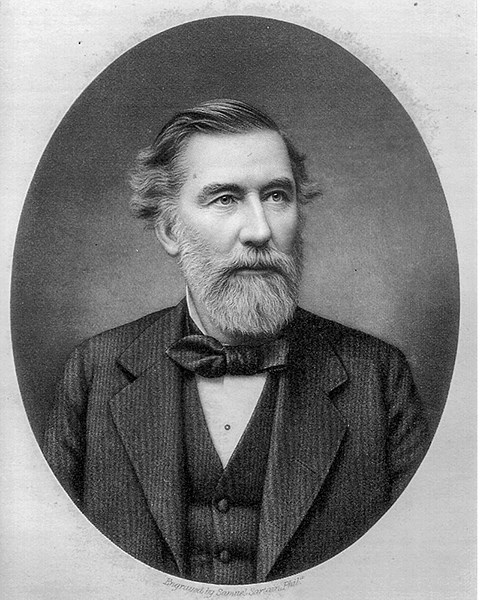 Portrait of Gettysburg attorney David Wills.