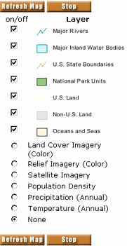 maps.nps.gov Legend Help on my map, uh map, oh map, daylight map, people map, no map,
