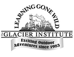"Logo with ""Learning Gone Wild"" arching over mountain goat drawing"