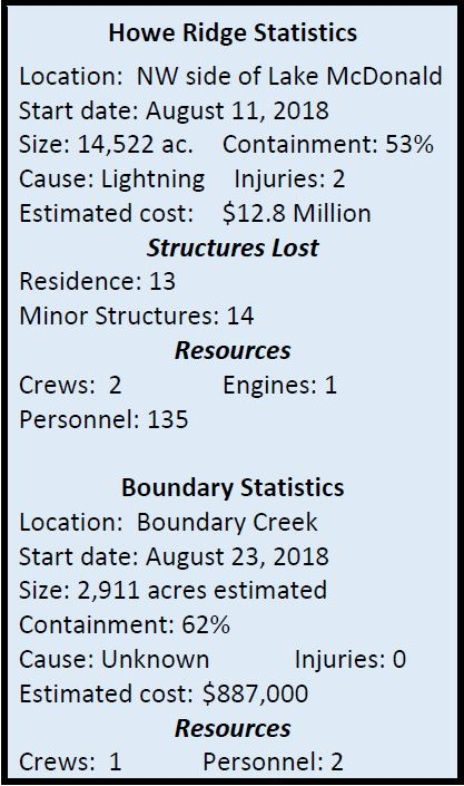 Statistical Fire information Graphic