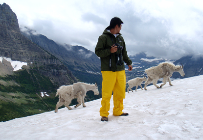 CCRLC Intern with Mountain Goats