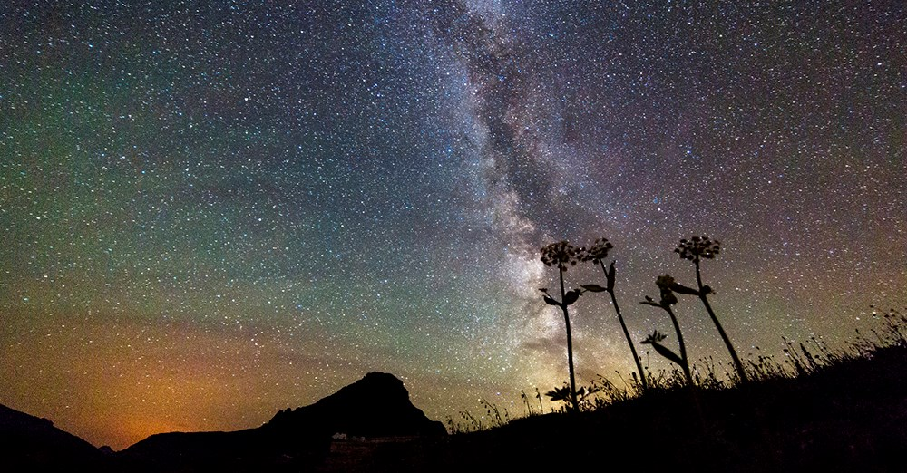 Night Sky - Glacier National Park (U.S. National Park Service)