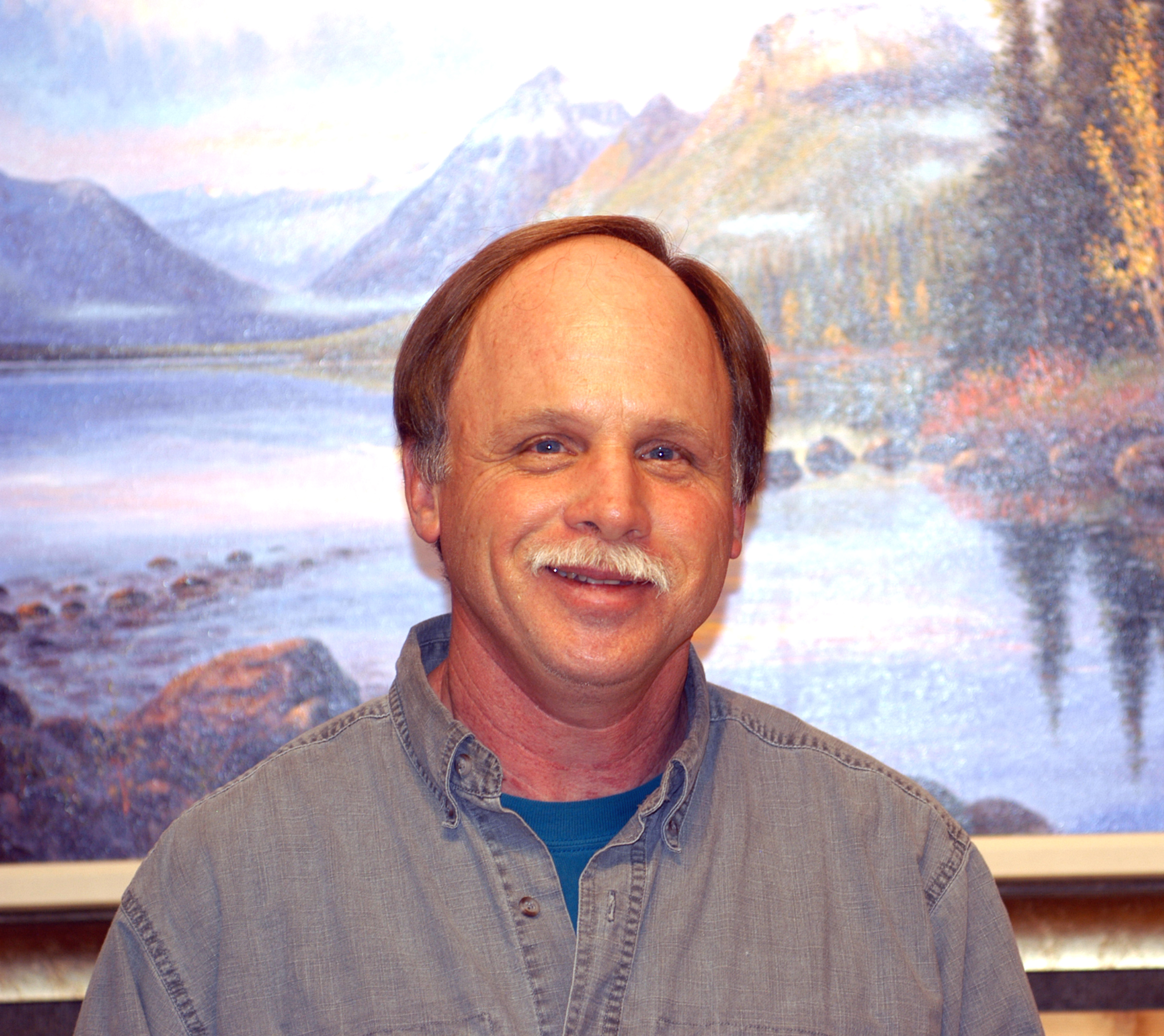 Montana Artist Exhibit Featured At St Mary Visitor Center Glacier National Park U
