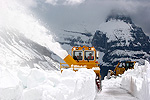 Plowing Logan Pass