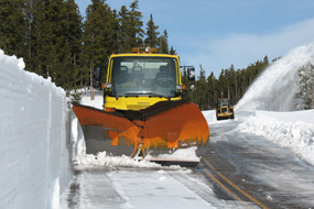 Plowing the Two Medicine Road