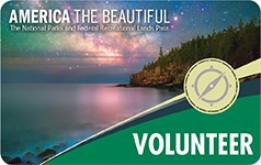 The 2019 America The Beautiful Volunteer Pass