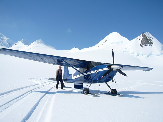 Air Taxi Service Provider on Snowy Mountain
