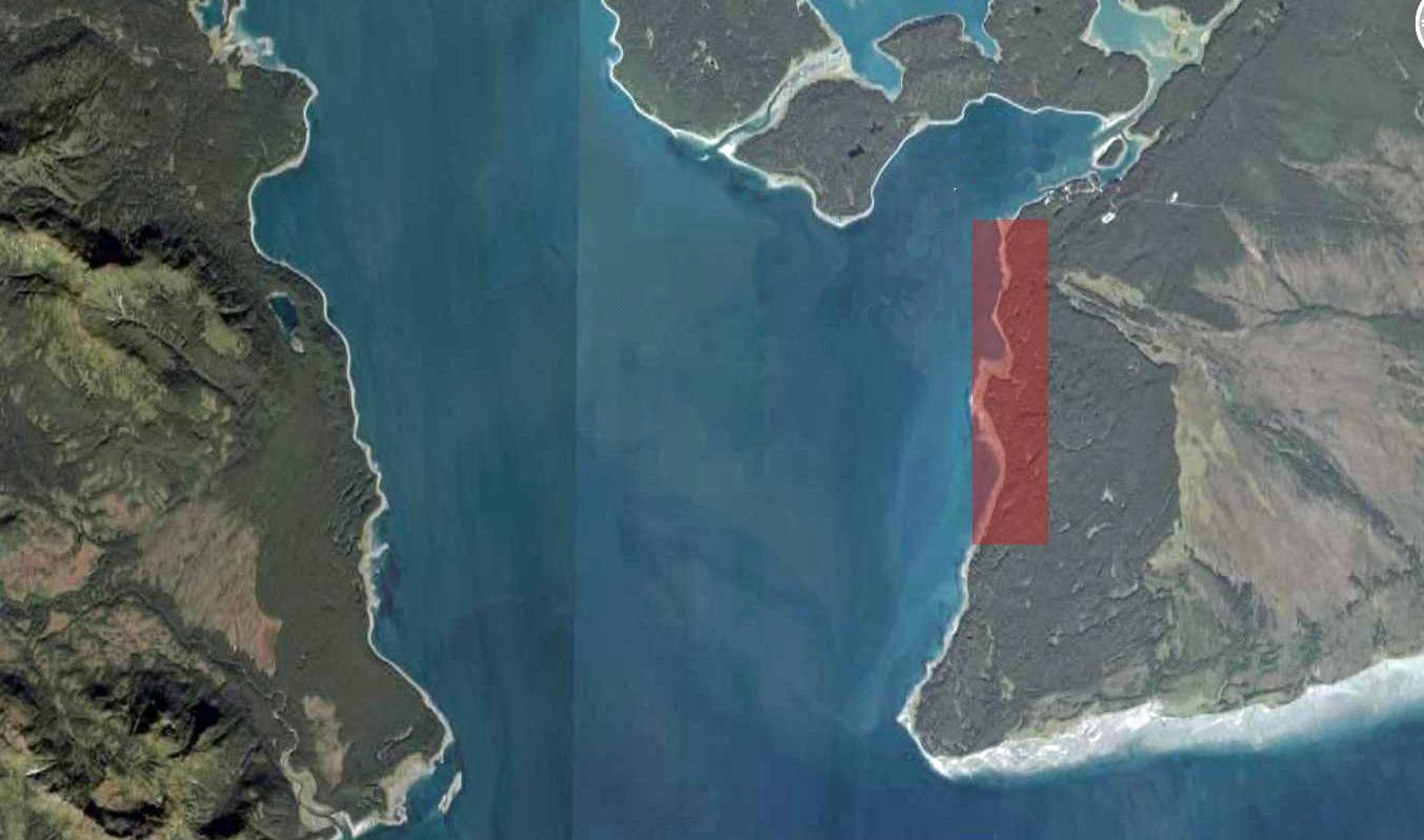 Map showing closure of Halibut Point area