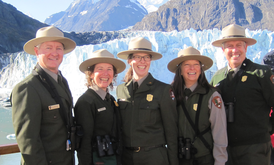 Park Rangers in Glacier Bay