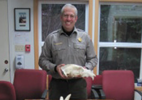 Using videoconferencing technology, a ranger can visit your classroom...LIVE