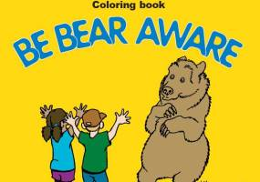 Bear Aware coloring book