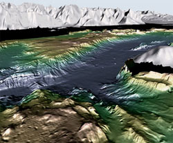 glacier bay bathymetry