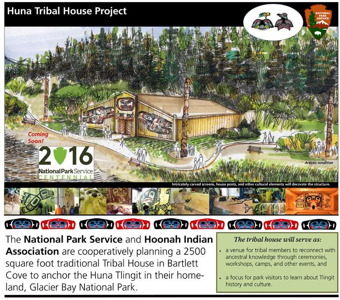 Huna Tribal House coming soon