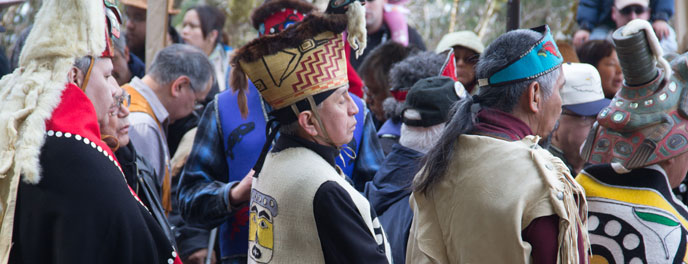 Tribal House Groundbreaking