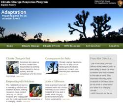 Check out the NPS climate change website
