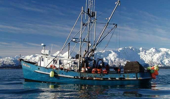 Commercial fishing glacier bay national park preserve for Crab fishing boats for sale