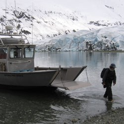 Glacier Bay National Park has resources that may be available to support your research.