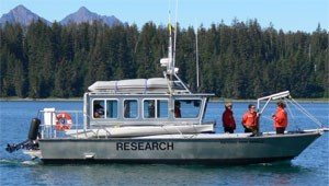 R/V Capelin is operated by Glacier Bay's resource division.