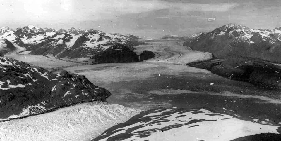 West Arm Glaciers circa 1900