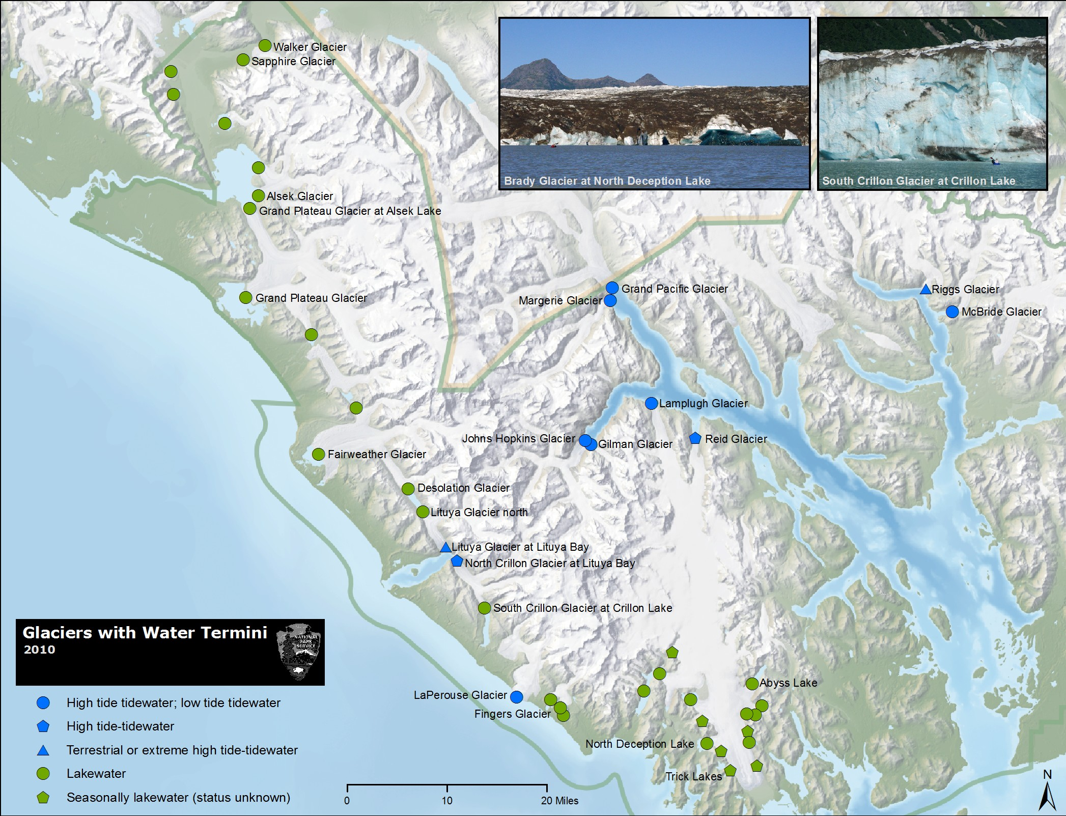 Common Questions and Myths About Glaciers Glacier Bay National