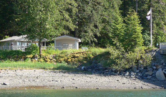 The Visitor Information Station (or VIS) is located near the Glacier Bay public use dock.